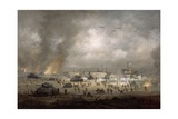 'The Tanks Go In', Sword Beach Giclee Print by Richard Willis