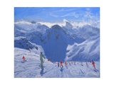 Mountain Shadow, 2009 Giclee Print by Andrew Macara