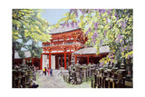 When Wisterias Blossom, 1989 Giclee Print by Komi Chen