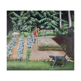 Shutesbury Garden, 1993 Giclee Print by Caroline Jennings
