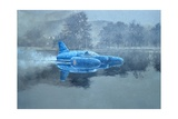 Donald Campbell and Bluebird Giclee Print by Peter Miller