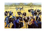 Ostrich Farm, 1988 Giclee Print by Komi Chen