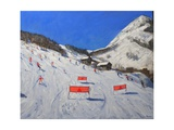 La Daille Val-d'Isere, 2009 Giclee Print by Andrew Macara