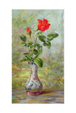 The Crimson Rose, a Messenger of Love Giclee Print by Albert Williams