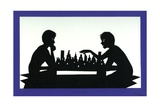 Real Chess:I Moved, 1995 Giclee Print by Beatrice Coron