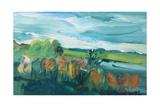 Autumn Landscape Giclee Print by Brenda Brin Booker