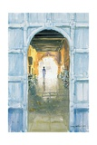 Walking Towards the Light, Cochin, 2002 Giclee Print by Lucy Willis