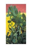 Nopal Cactus in Teotihuacan, 2001 Giclee Print by Pedro Diego Alvarado