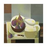 Still Life with Figs, 1998 Giclee Print by Reg Cartwright