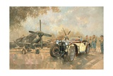 Cream Cracker MG 4 Spitfires Giclee Print by Peter Miller