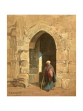 A City Gate Giclee Print by Henry Andrew Harper
