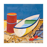 Boat and Barrel, 2005 Giclee Print by Jan Groneberg