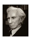 Bertrand Arthur William Russell (1872-1970), 3rd Earl Russell Photographic Print by Lotte Meitner-Graf
