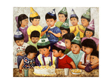 Happy Birthday, 1994 Giclee Print by Komi Chen
