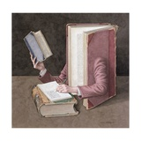 Books on Books, 2003 Giclee Print by Jonathan Wolstenholme