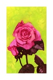 Bright Rose, 1980s Giclee Print by George Adamson