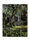 The Lutyens Bench, 2002 Giclee Print by Christopher Glanville