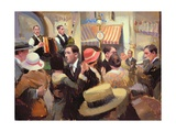 Paris Bal Musette, 2003 Giclee Print by Alan Kingsbury