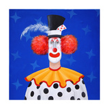 The Clown Giclee Print by John Wright