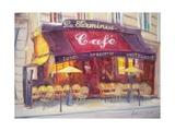 Cafe Le Terminus, 2010 Giclee Print by Antonia Myatt