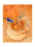 Storm in a Teacup, 1970s Giclee Print by George Adamson