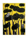 Forest Hoard Giclee Print by Celia Washington