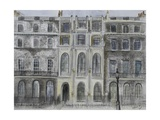 Sir John Soane's Museum, 2010 Giclee Print by Sophia Elliot
