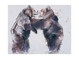 Playfight, 2001 Giclee Print by Mark Adlington