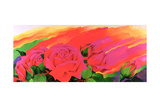 The Rose in the Festival of Light, 1995 Giclee Print by Myung-Bo Sim