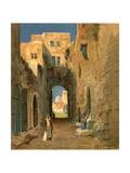 A Street in Jerusalem Giclee Print by Henry Andrew Harper