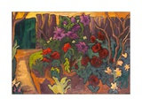 Mum's Garden, 2003 Giclee Print by Marta Martonfi-Benke
