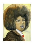 Marsha Hunt, 2007 Giclee Print by Cathy Lomax