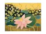 Lotus Flower, 1984 Giclee Print by Marie Hugo