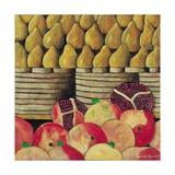Pears and Pomegranates, 1999 Giclee Print by Pedro Diego Alvarado