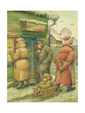 Russian Scene 02, 1994 Giclee Print by Kestutis Kasparavicius