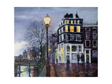 At Dusk, Amsterdam, 1999 Giclee Print by Antonia Myatt