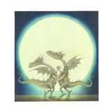 Dancing Dragons, 2009 Giclee Print by Wayne Anderson