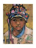 Portrait of a Boy Giclee Print by Anna Kostenko