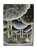 Eden, the First Exodus, 1989 Giclee Print by Celia Washington