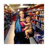 Vision at the Supermarket, 2007 Giclee Print by Trygve Skogrand