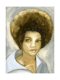 Afro 2 (Kathleen Cleaver), 2007 Giclee Print by Cathy Lomax