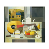 Still Life with Mandolin, 1999 Giclee Print by Reg Cartwright