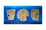 Assyrian Inscriptions, 2006 Giclee Print by Firyal Al-Adhamy