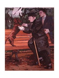 Every Dog Has His Day, 1981 Giclee Print by Peter Wilson
