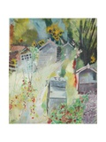 Allotment, Bishops Park, 2009 Giclee Print by Sophia Elliot