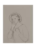 Study for Elizabeth Bennet, 2011 Giclee Print by Caroline Hervey-Bathurst