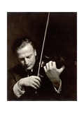 Yehudi Menuhin (1916-99) Photographic Print by Lotte Meitner-Graf
