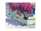 Bouganvillaea, Zante, 1999 Giclee Print by Andrew Macara