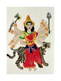 Durga Giclee Print by Jung Sook Nam