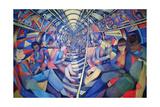 Subway NYC, 1994 Wydruk giclee autor Charlotte Johnson Wahl